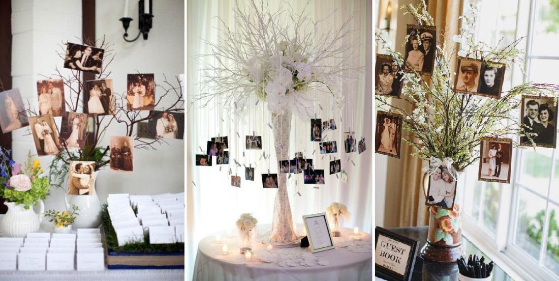 20 modèles différents d'arbre à photos qui vous permettront d'afficher vos plus beaux clichés