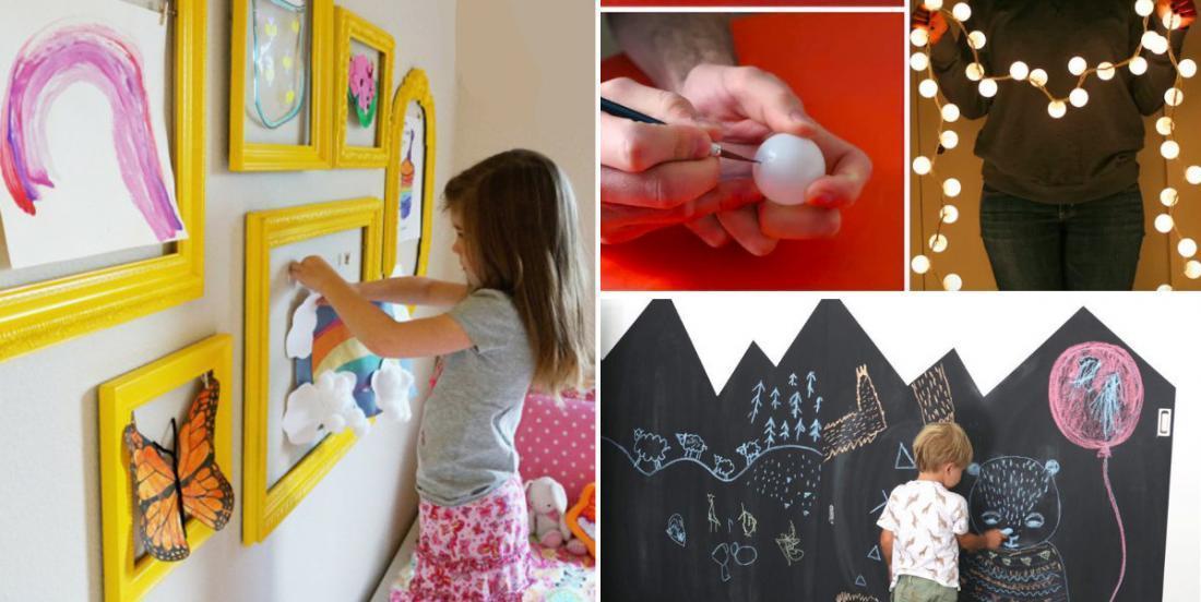 16 façons de décorer une salle de jeux pour enfants à petit prix!