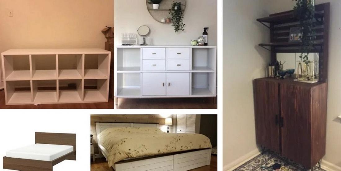 12 manières géniales de modifier du mobilier IKEA