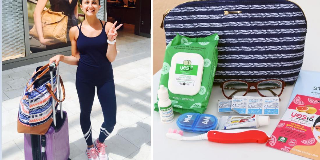 Elle part en voyage 16 jours avec seulement un bagage de cabine et elle nous partage ses trucs
