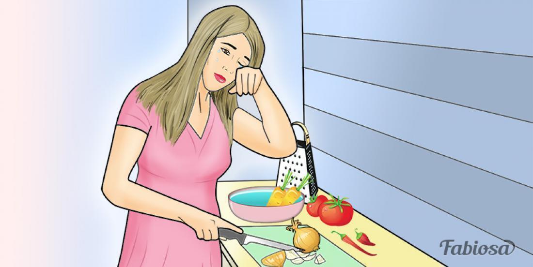 Couper des oignons vous fait pleurer? Essayez ces 6 trucs et pleurer en cuisinant sera chose du passé