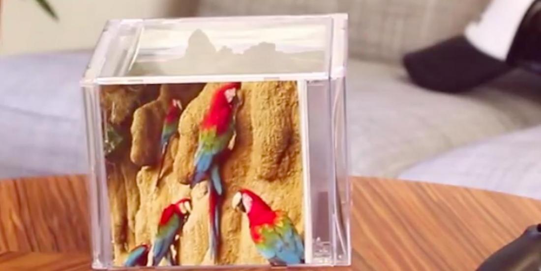 Voici comment réaliser un cube pour photos à partir de vieux boitiers de CD