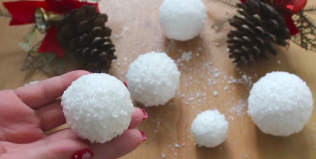 Comment faire des boules de neige plus vraies que nature