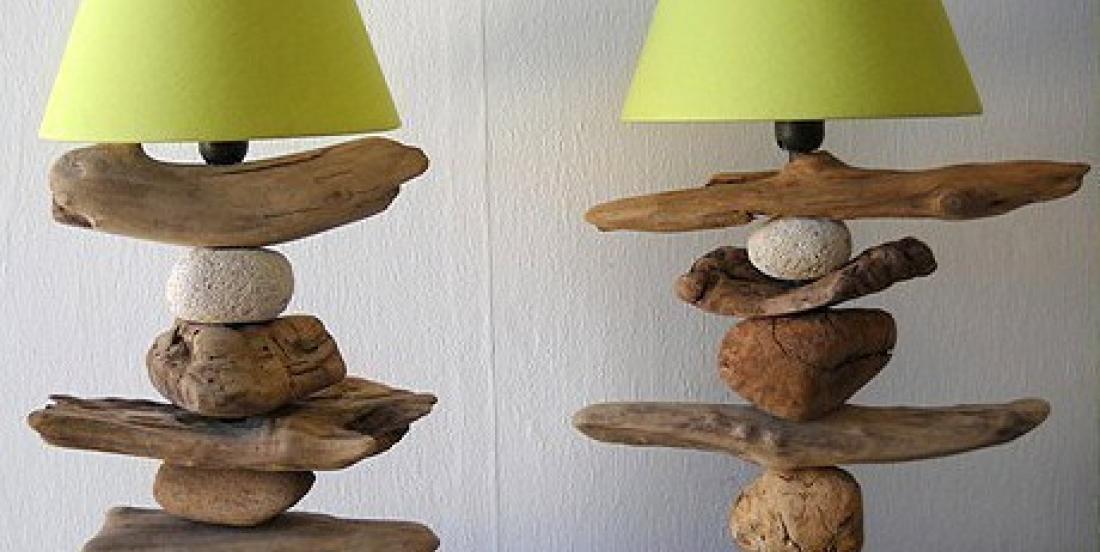 20 idées de décorations faciles à réaliser avec du bois flotté