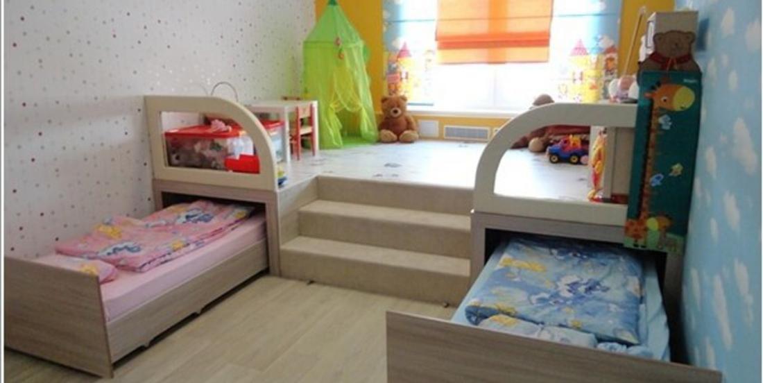 15 astuces pour optimiser l'espace dans les chambres d'enfants!