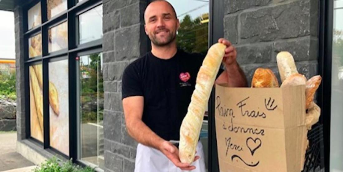 Cette boulangerie de Sherbrooke a trouvé une façon d'éviter le gaspillage tout en aidant la communauté