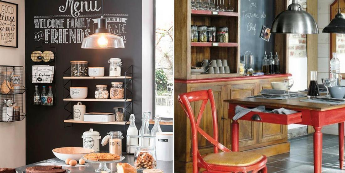 20 magnifiques idées pour donner une ambiance Café Bistrot à votre cuisine
