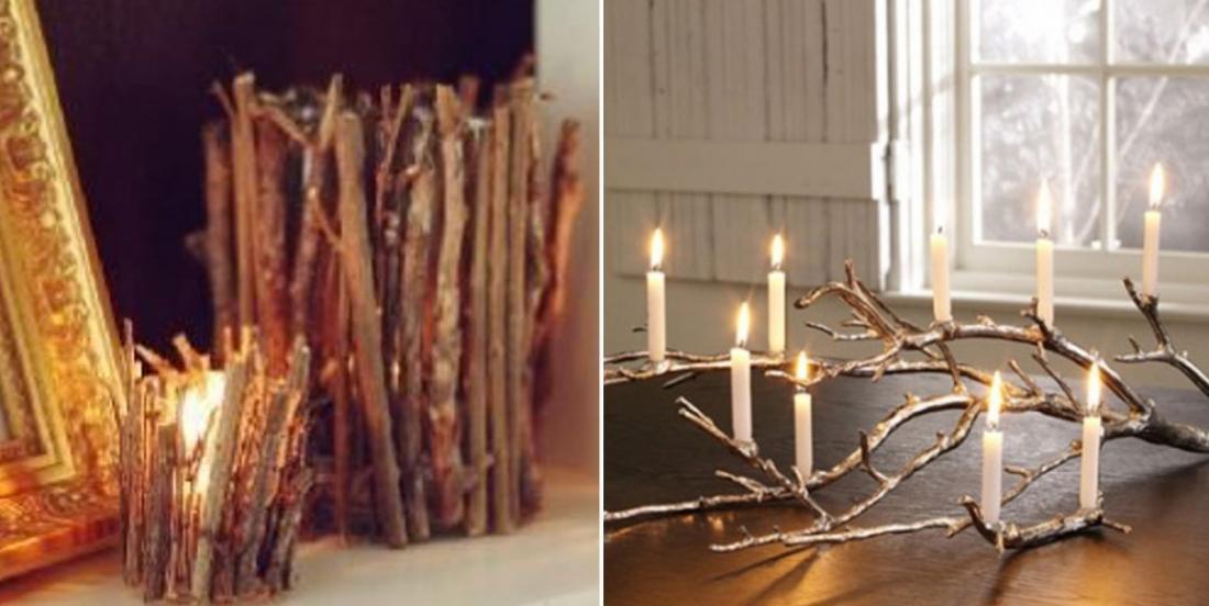 Faites entrer la nature dans votre maison: 16 idées pour décorer avec des branches!