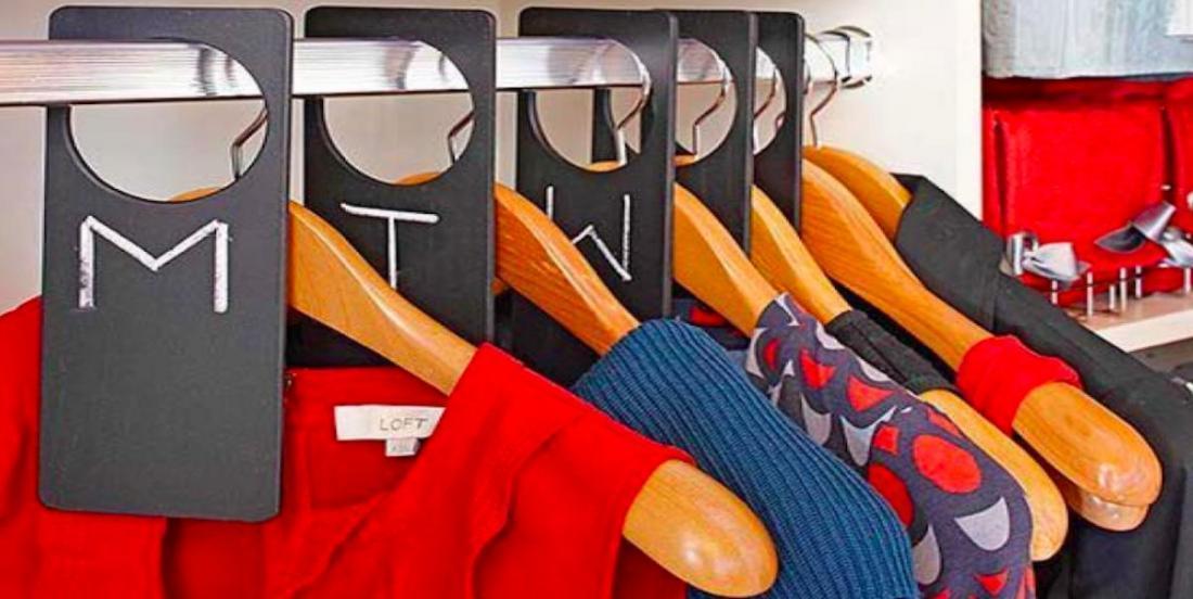 21 façons géniales d'organiser votre placard et vos tiroirs