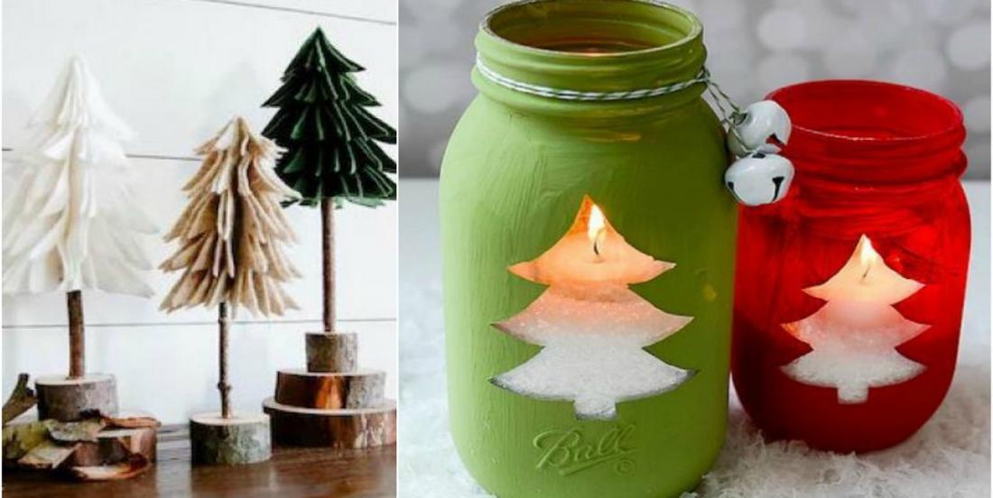 11 décorations de Noël à réaliser facilement qui vous mettront dans l'esprit des Fêtes!