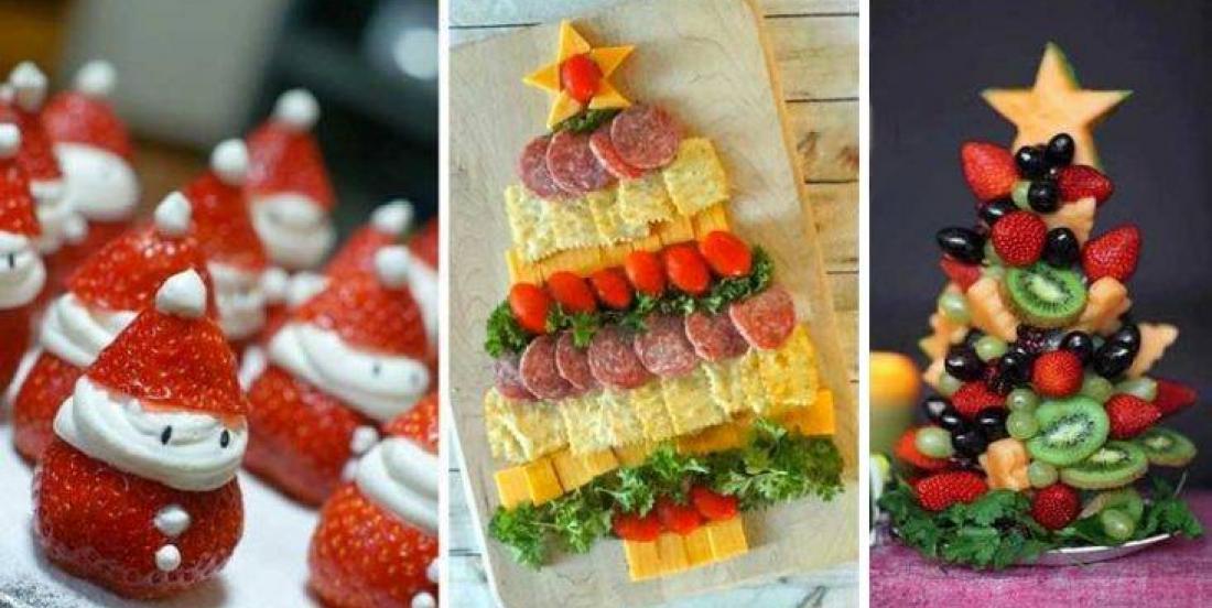 20 idées pour décorer vos plats pour le temps des Fêtes