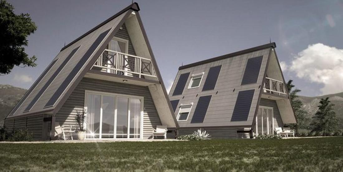 Cette jolie maison prend seulement six heures à construire!