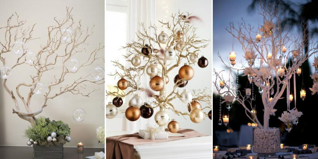 Ces 10 branches décorées sont si belles, que vous n'aurez plus envie d'un sapin conventionnel