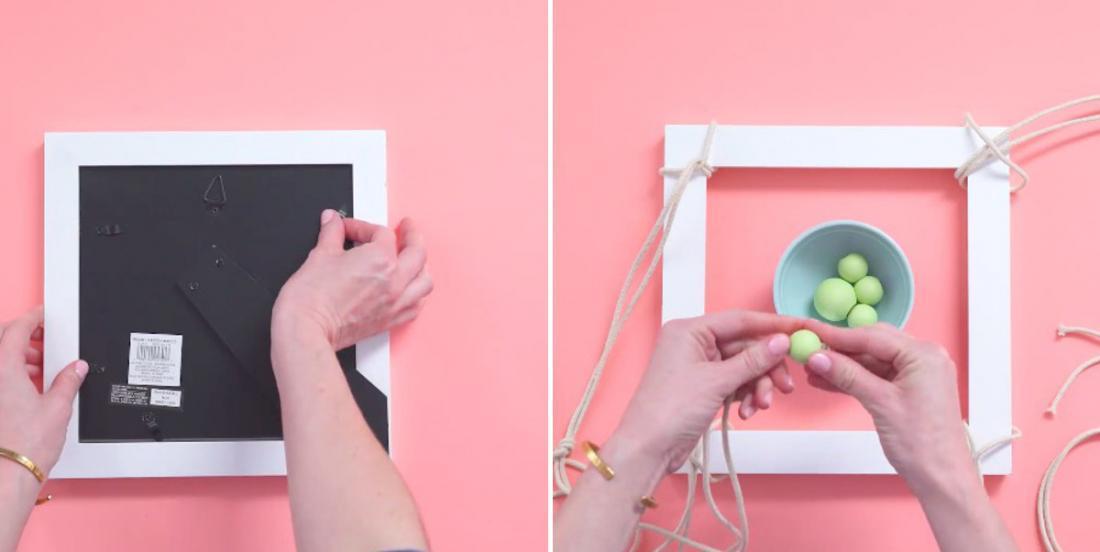 Démontez un cadre photo pour en faire une jardinière en moins de 15 minutes!