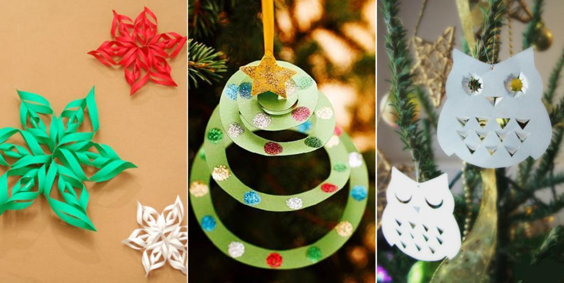 18 belles décorations de Noël qui ne vous coûteront pas un sou à bricoler!