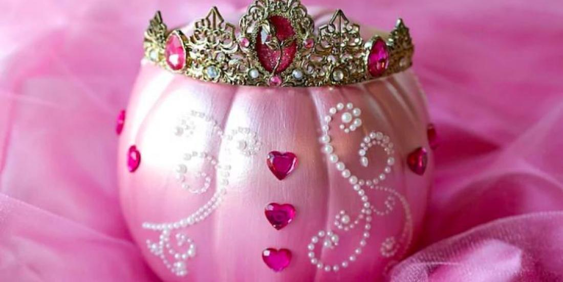 Les citrouilles décorées en princesses sont la tendance de l'heure pour l'Halloween cette année