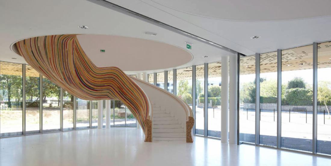 15 escaliers Design qui vous donneront des idées de grandeur!