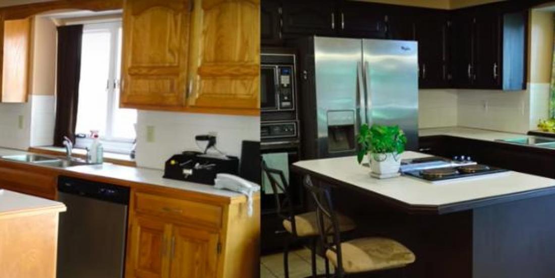 Une façon peu coûteuse et simple de rénover votre cuisine!