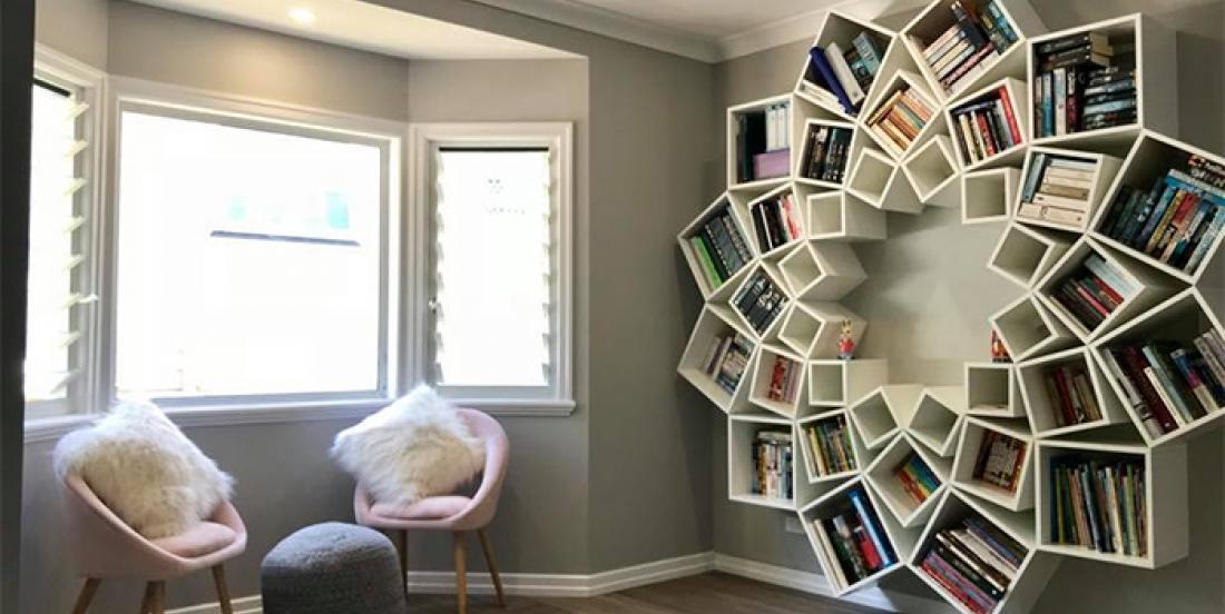 Fabriquez facilement cette époustouflante bibliothèque vous-mêmes en quelques étapes faciles!