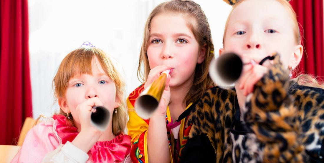 Les enfants énergiques et bruyants sont tout simplement des enfants heureux!