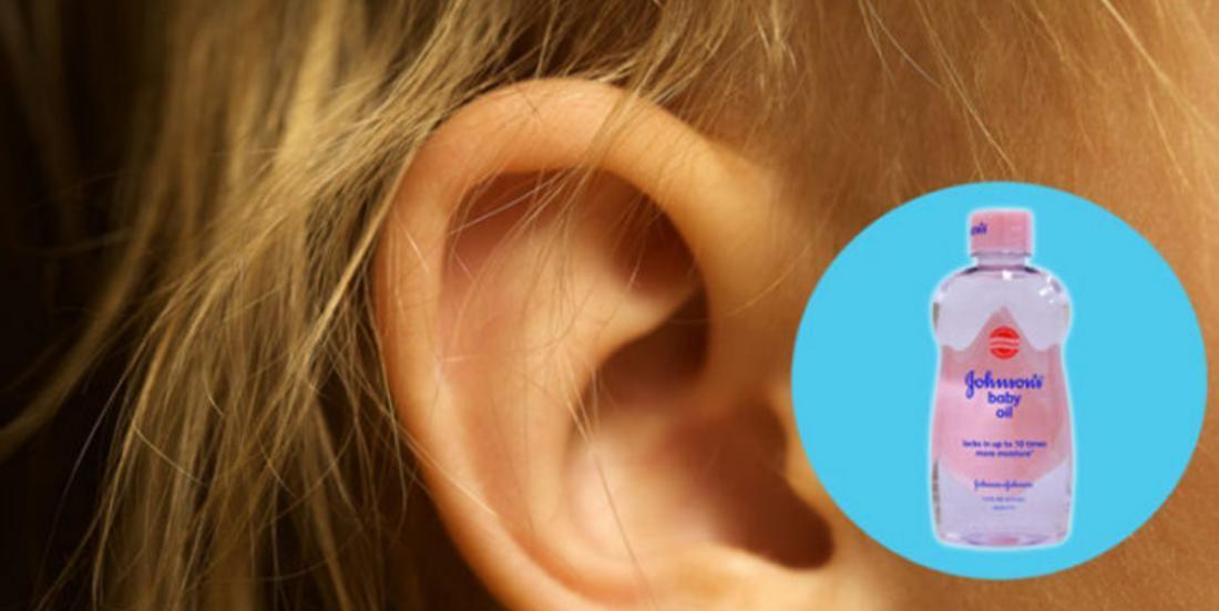 Elle met de l'huile pour bébé dans ses oreilles et 3 jours plus tard, elle voit le résultat