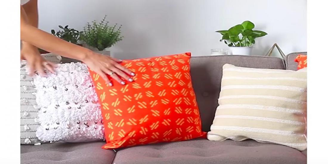 5 idées créatives pour fabriquer des coussins uniques et vraiment cool!