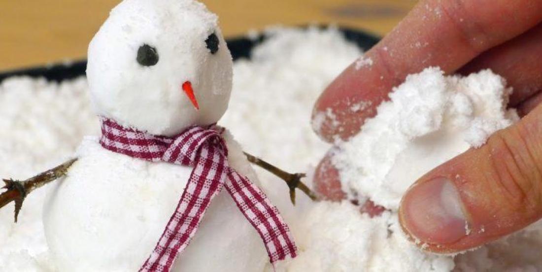 Créez facilement de la neige artificielle grâce à cette astuce géniale!
