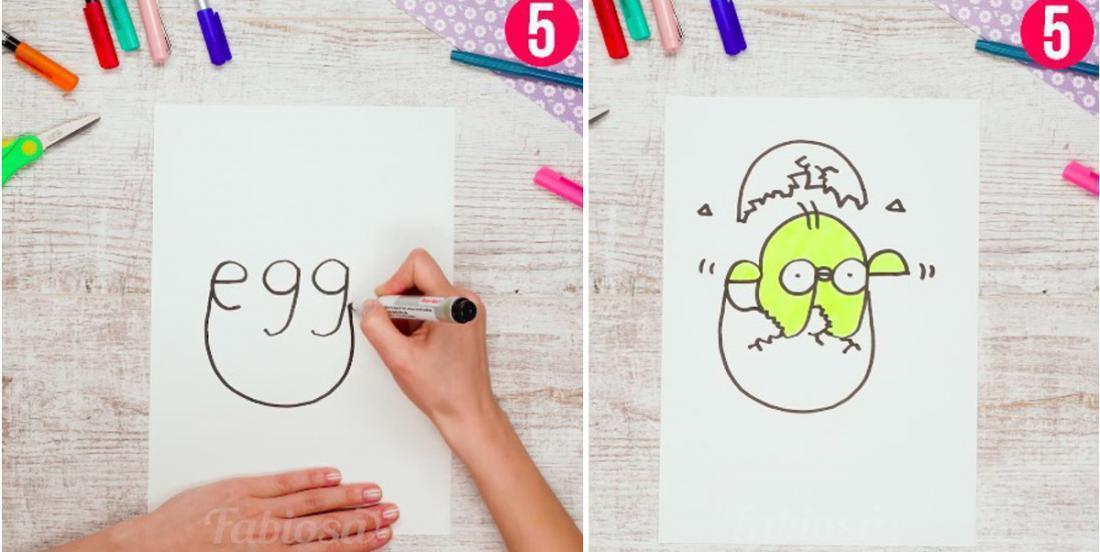 Apprenez l'anglais à votre enfant en dessinant!