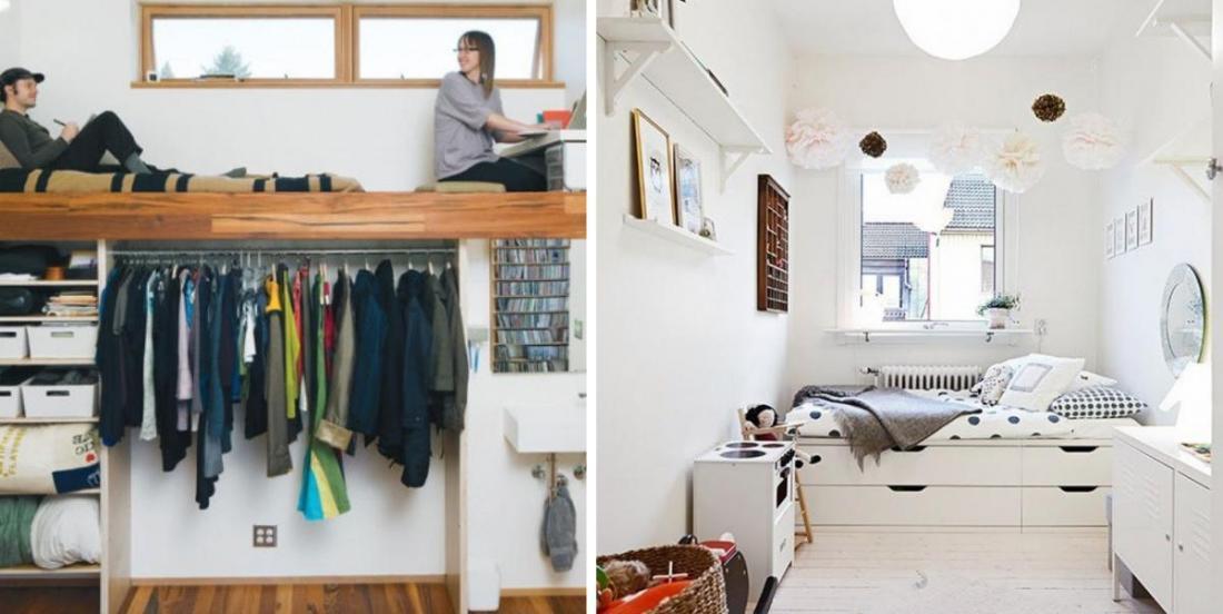 20 idées fantastiques pour transformer une petite pièce en chambre chaleureuse