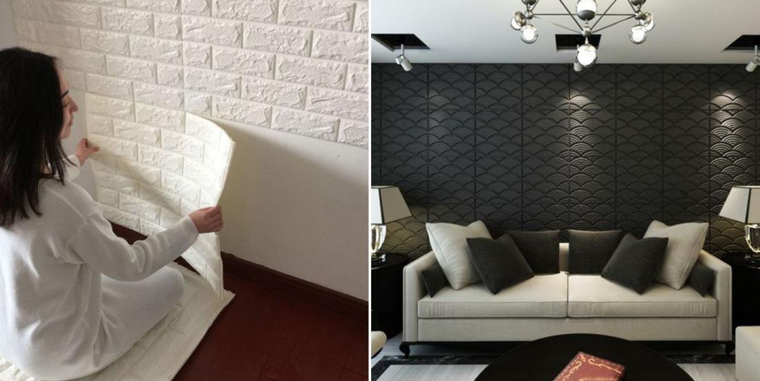 Décorer vos murs avec des panneaux 3D