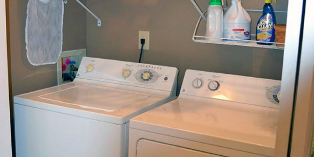 Voici de simples et brillantes idées pour sauver de l'espace dans la salle de lavage