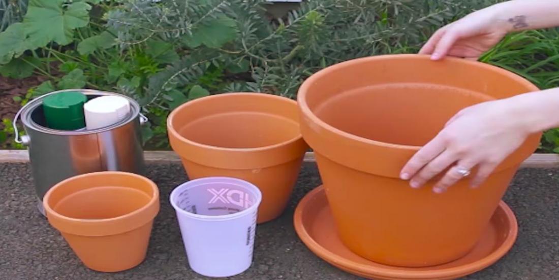 15 projets vraiment cool à réaliser avec des pots en terre cuite!