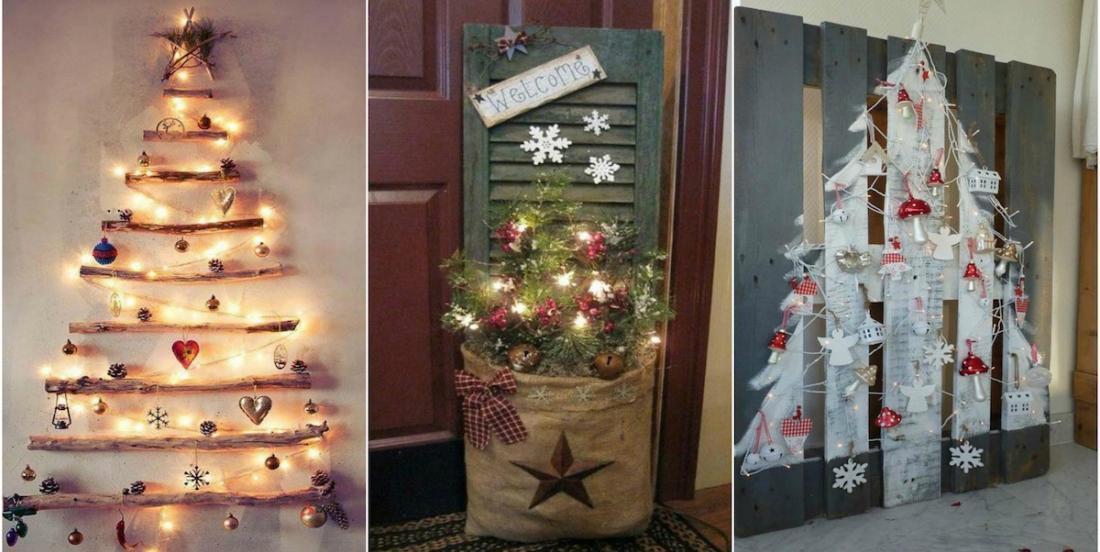 14 décorations de Noël fabriquées à partir de vieux morceaux de bois
