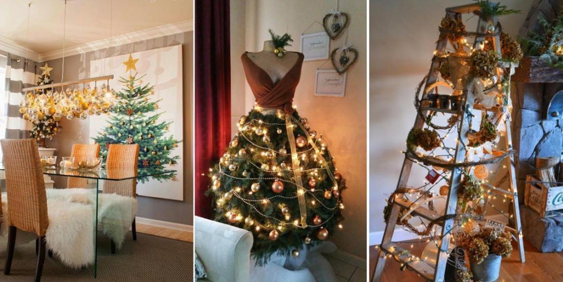 24 magnifiques façons de dresser un sapin de Noël qui sort de l'ordinaire