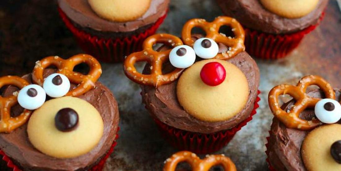15 idées créatives de cupcakes pour Noël!