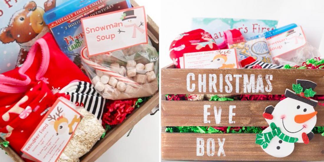 La boîte de la veille de Noël, une belle tradition à commencer
