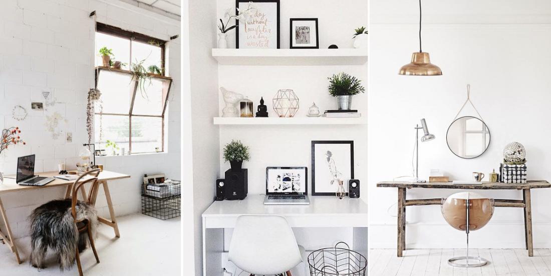 12 inspirations déco pour réaliser un espace de travail fonctionnel à la maison
