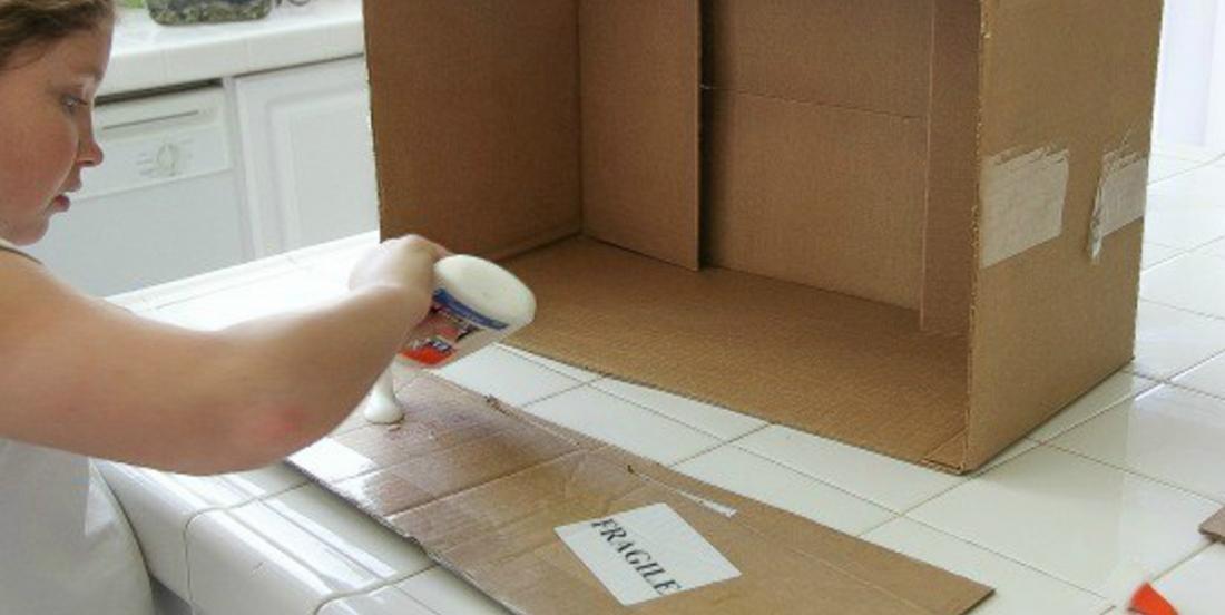 12 trucs cool à construire à partir de boîtes de carton