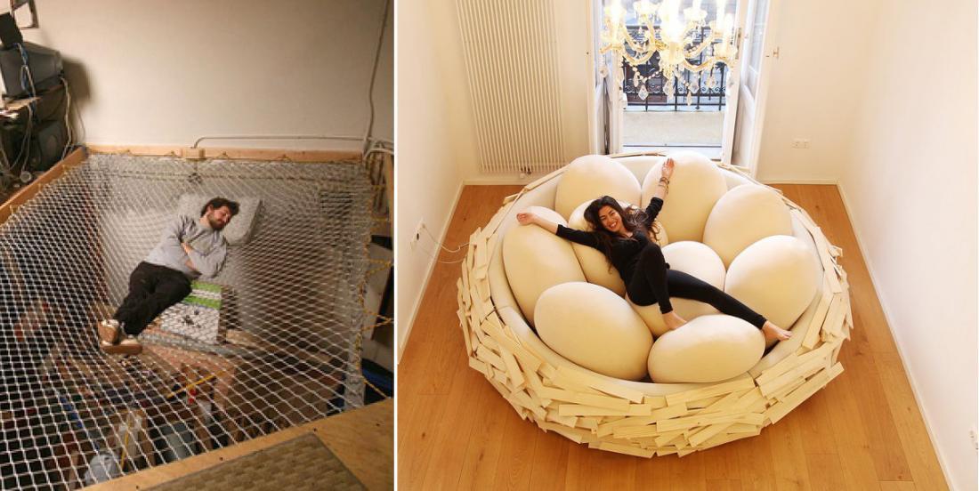 12 lits originaux qui vous feront passer des nuits uniques