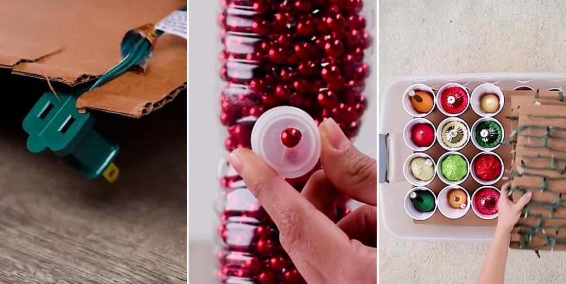 Conservez vos décorations de Noël en parfait état grâce à ces 7 brillantes astuces de rangement