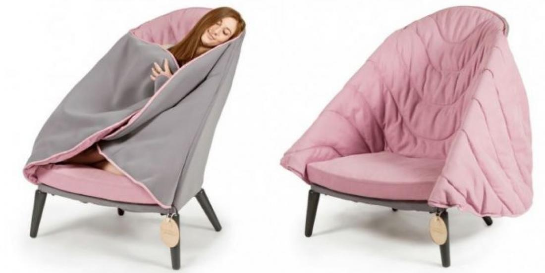 Voici la chaise qui rendra toutes vos soirées d'hiver magiques!