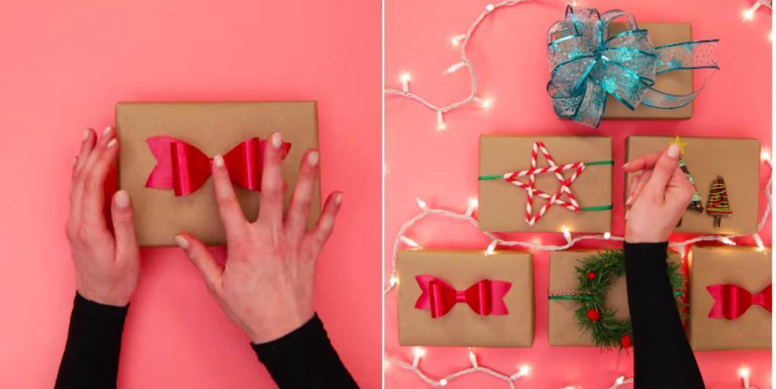 Ces 5 belles idées d'emballages cadeaux feront sensation sous le sapin de Noël!