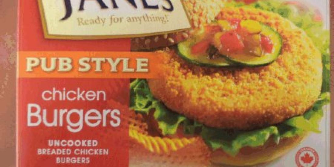 Du poulet pané rappelé en raison de contamination à la salmonelle