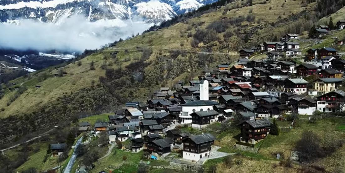 Un village en Suisse vous offre 70 000$ si vous vous y installez!