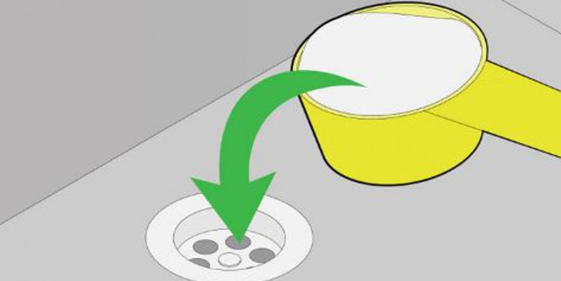 Éliminez les mauvaises odeurs et débouchez votre évier avec une astuce toute simple!