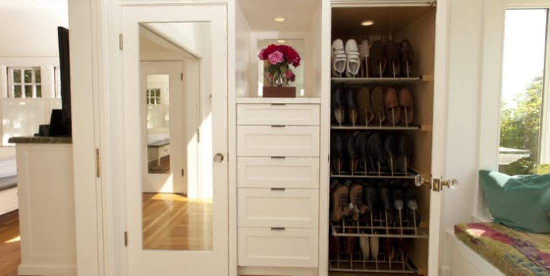 14 jolies façons originales d'organiser vos chaussures