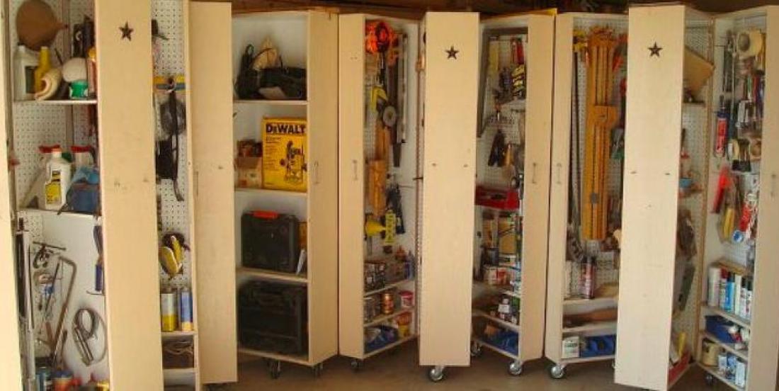 18 façons de rendre votre garage la pièce la plus organisée de toute votre maison!