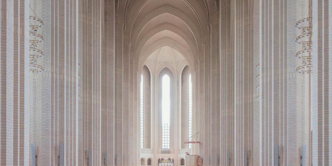 La beauté de cette église danoise est hors du commun
