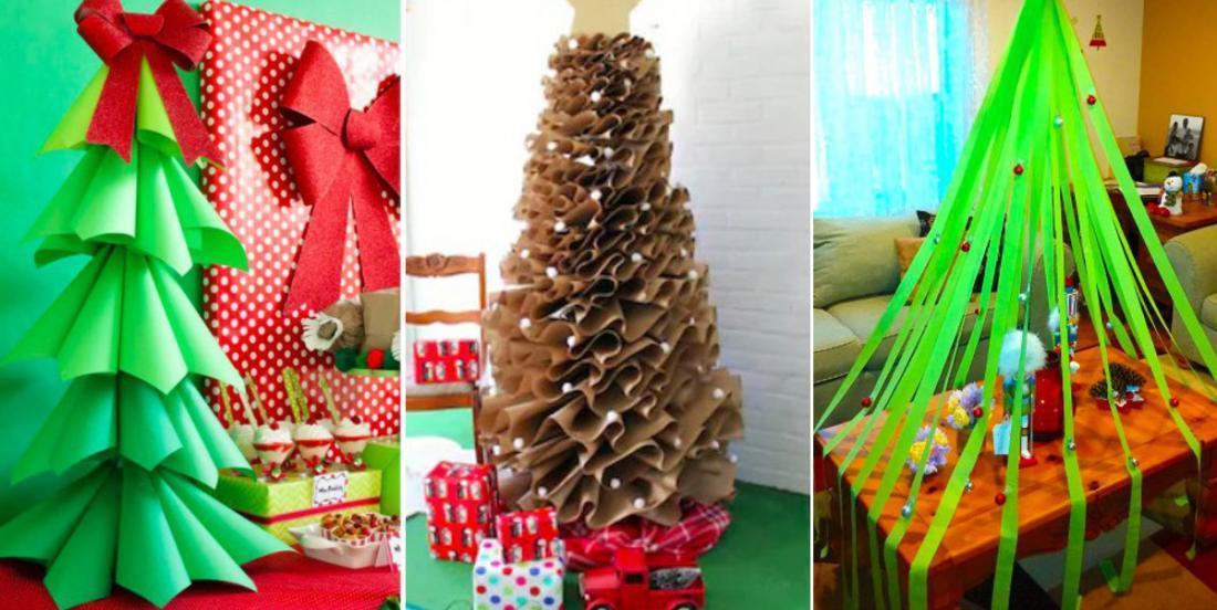 15 bonnes alternatives aux sapins de Noël quand on ne veut pas d'un arbre conventionnel!