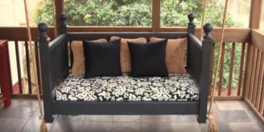 11 façons de transformer un lit pour bébés en meuble aussi joli qu'utile!
